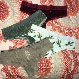 PINK Victoria's Secret Panty Bundle